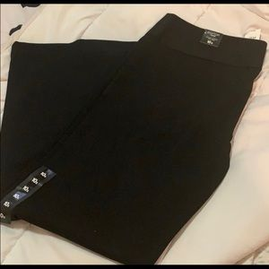 NWT - Express Editor Flare in black 10s
